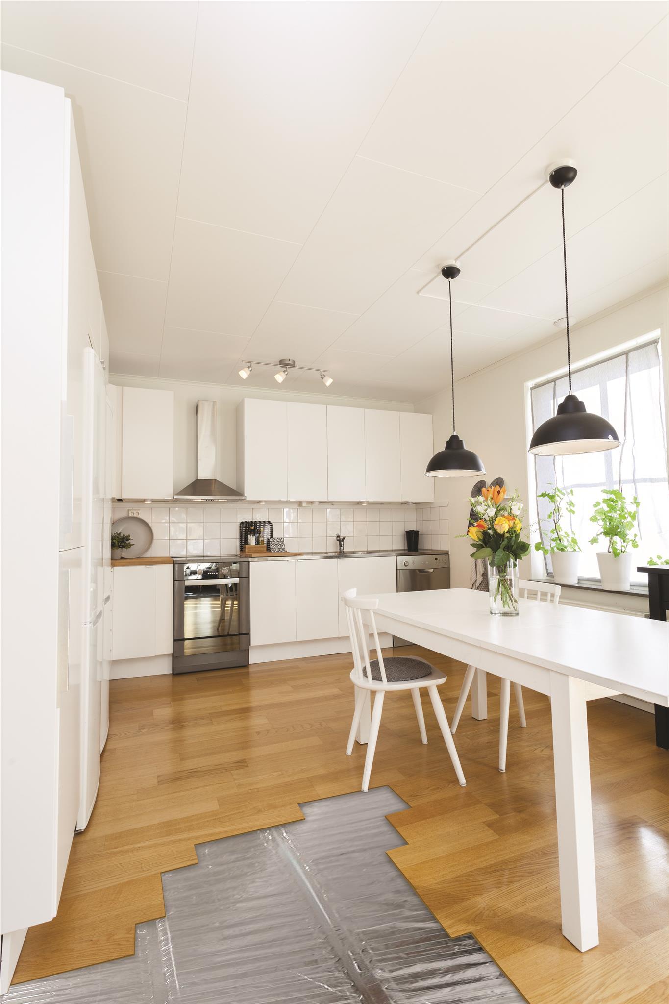 elektrische folieverwarmingsmat keuken