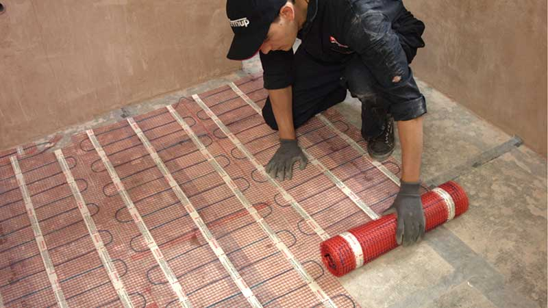 Amazing Underfloor Heating For Tiles Under Tile Heating Warmup Home Interior And Landscaping Staixmapetitesourisinfo