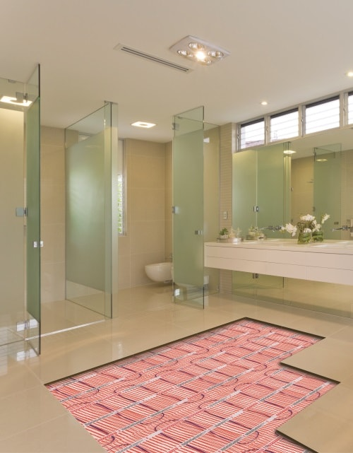 Underfloor Heating For Your Bathroom Warmup Ireland