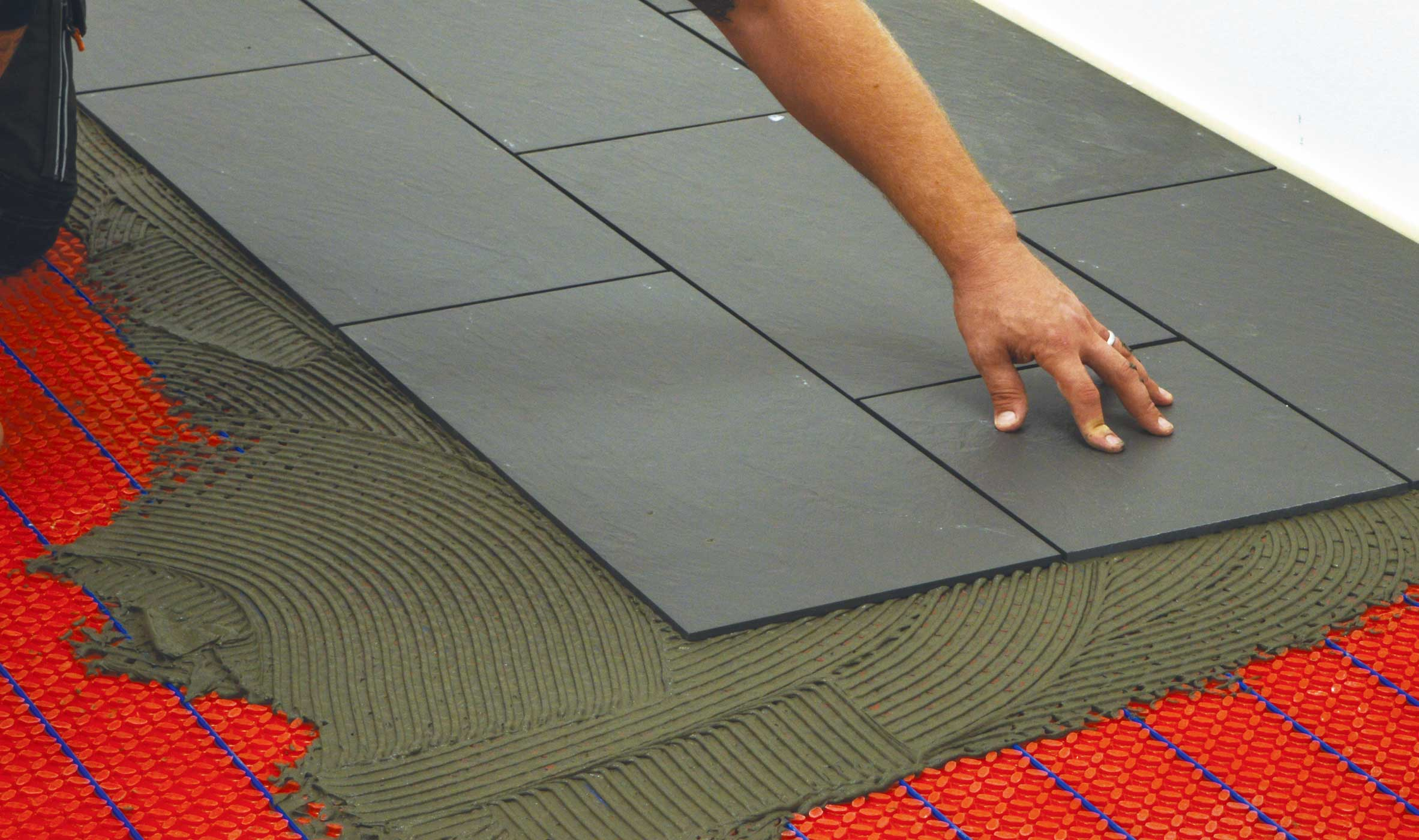 Warmup heating mats installation